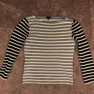 Striped waffle long sleeve - Size L